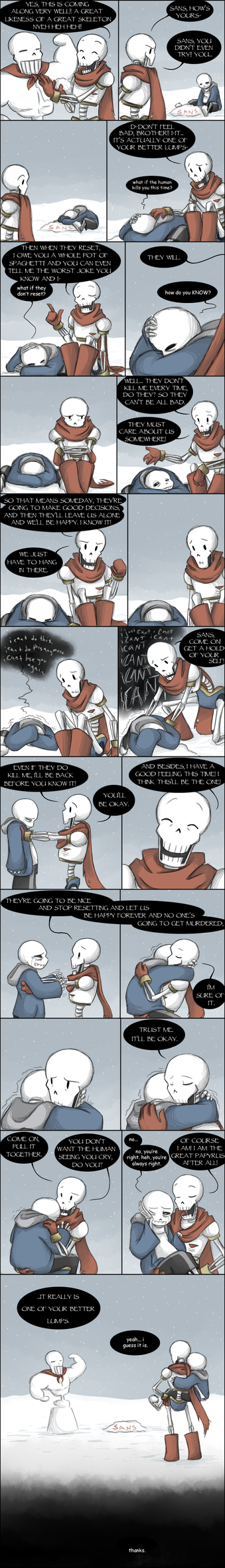 [UNDERTALE SPOILERS] They'll get bored eventually by zarla