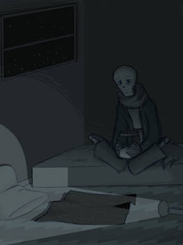 at home with a ghost