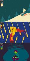 Spectrum sledding by zarla