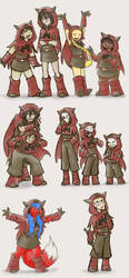 Little capes for all by zarla