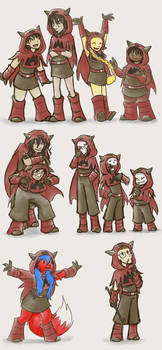 Little capes for all