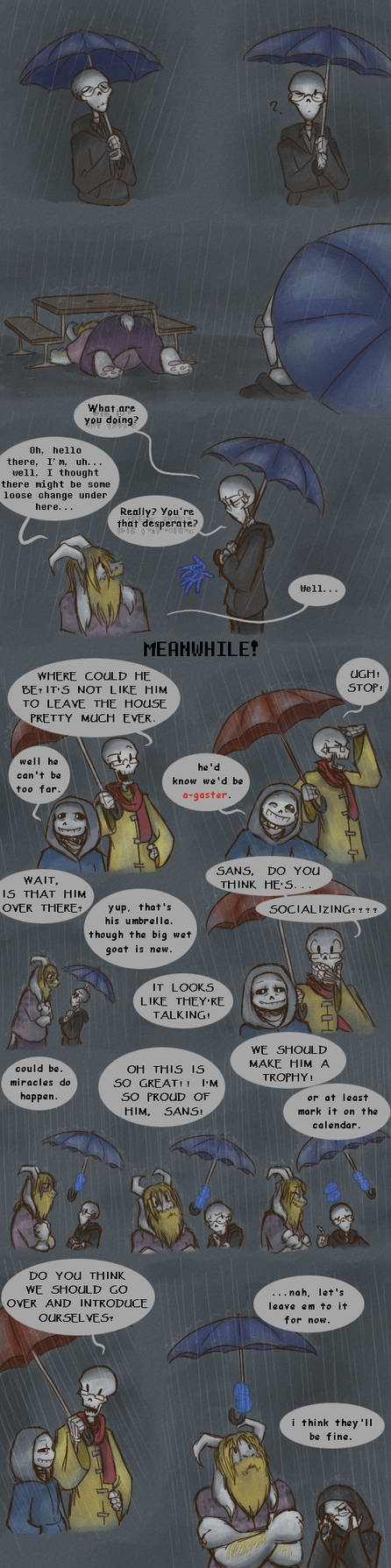 Did you pawn your umbrella too