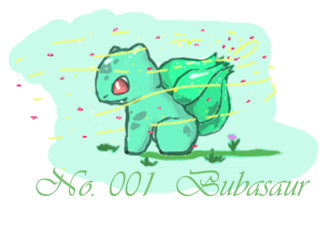 [Bulba Used Sweet Scent] by Dragon-Punk-666