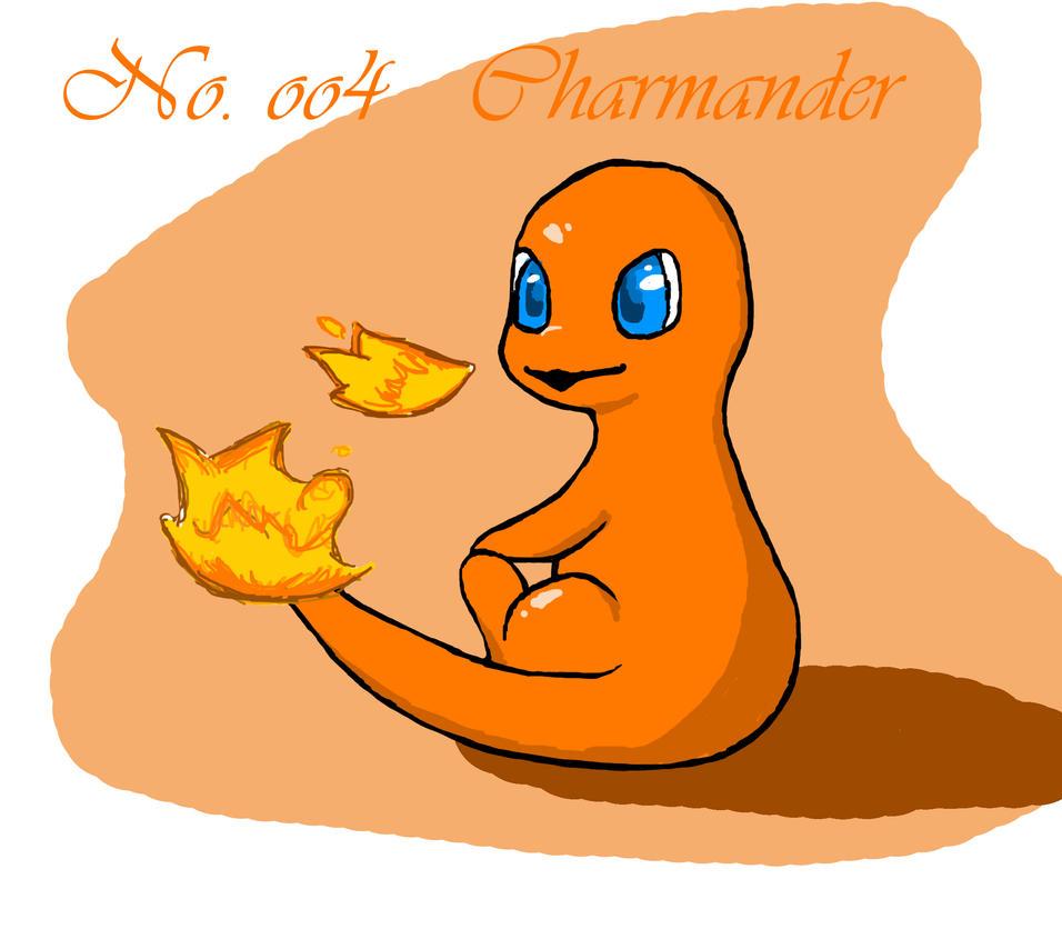 [Charmander seems happy] by Dragon-Punk-666