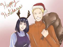 Naruhina ~ Happy Holidays! by naruto3119