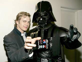 Darth Vader and Hayden by MrsSkywalker1005