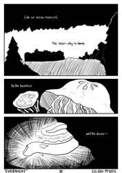EVERNIGHT 0-2 (low effort comic series) by Sakkeru