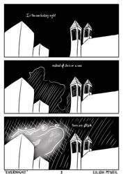 EVERNIGHT 0-1 (low effort comic series) by Sakkeru