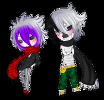 COMMISSSION: Chiiru and Yami by Eveenyan