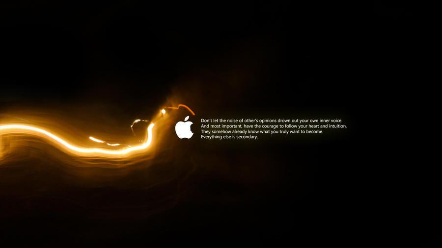 Steve Jobs - Tribute - Lights by naxeem