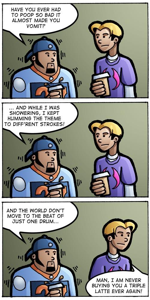 Science Shop Guy - Coffee Break by whipsmartbanky
