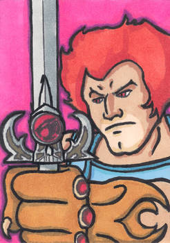Lion-O Thundercats Sketch Card