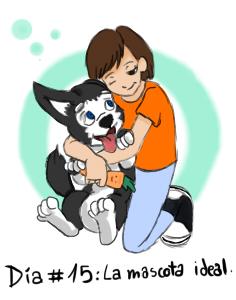 Dia #15: La mascota ideal by littleredeagle