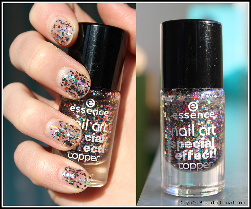 essence Nail Art - Circus Confetti by DaysOfBeautification on DeviantArt