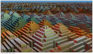 Pyramids City by mario837