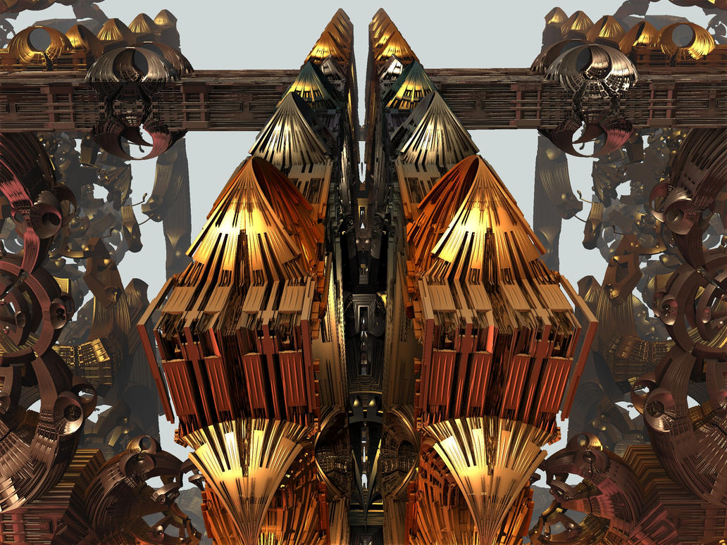 Metallic Shapes XV by mario837