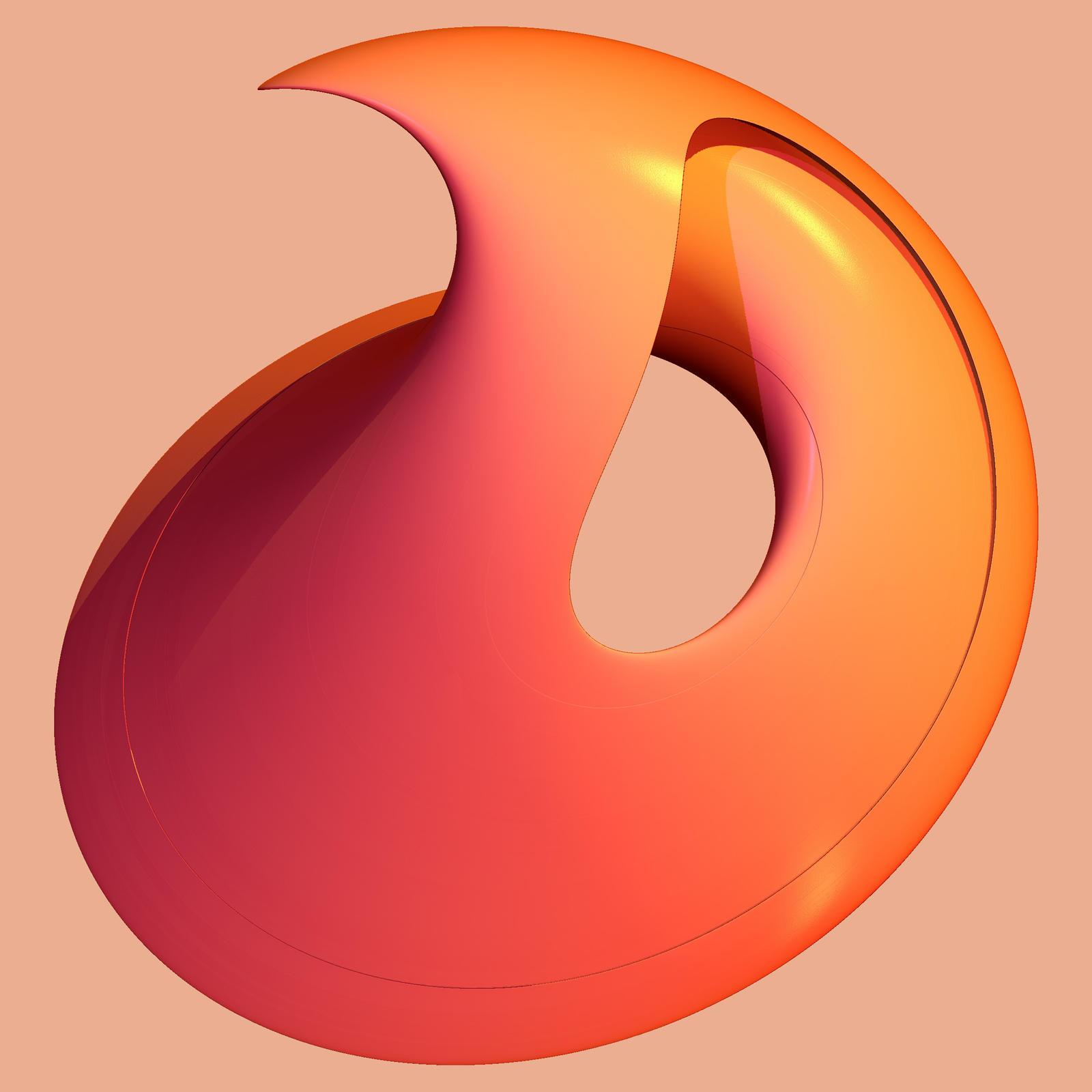 Chaoscope 24 - Orange by mario837