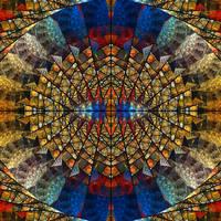 Geometric Vitraux by mario837