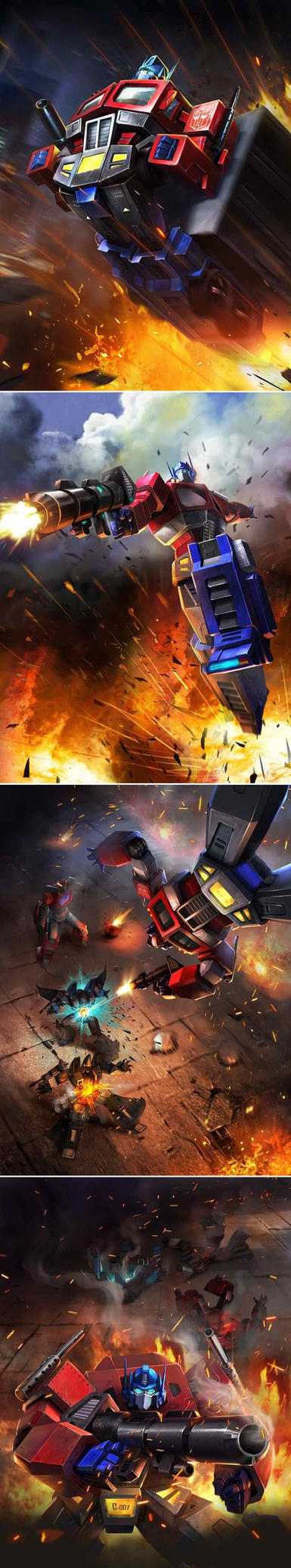 TRANSFORMERS LEGENDS Optimus Prime by manbu1977