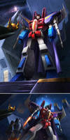 THE CORONATION OF STARSCREAM