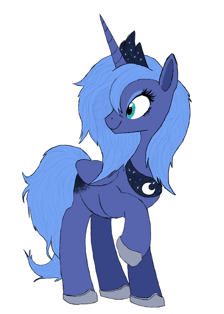 Luna Detailed Vector by Royal-Flush-Pony