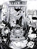 Fullmetal Alchemist- gate by enzing88