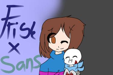 Frisk X Sans (US) by LoafCH82