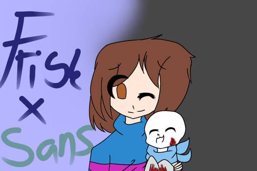 Frisk X Sans (US) by LoafCH82