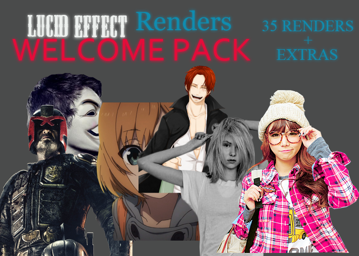 Welcome Render Pack by GrankDesigns