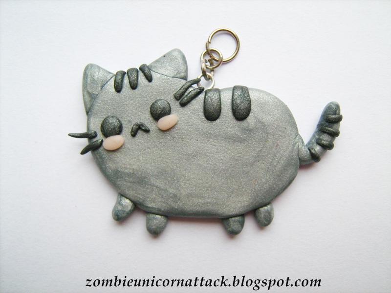 Pusheen pendant by Galadriel89