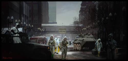Quarantine Zone by DaveTilton