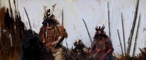 Samurai by DaveTilton