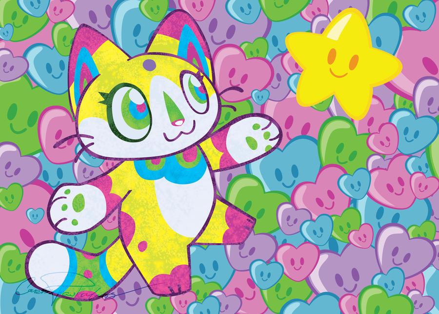 Takashi Murakami Emulation- Kitty Star by Neeko48
