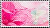 pink flower stamp by catstam