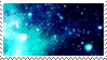 blue space stamp by catstam