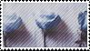 blue rose stamp by catstam