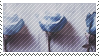 blue rose stamp by catstam
