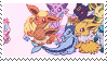 eeveelutions stamp by catstam