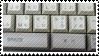keyboard stamp by catstam