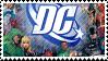 dc comics stamp