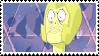yellow diamond stamp by catstam