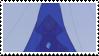 blue diamond stamp by catstam