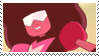 garnet stamp by catstam
