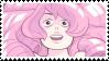 rose quartz stamp