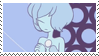 Blue Pearl stamp