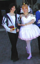 Tutu and Fakir -- cosplay by lithele