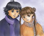 Stellvia: Shima and Kouta