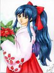 Sakura christmas card