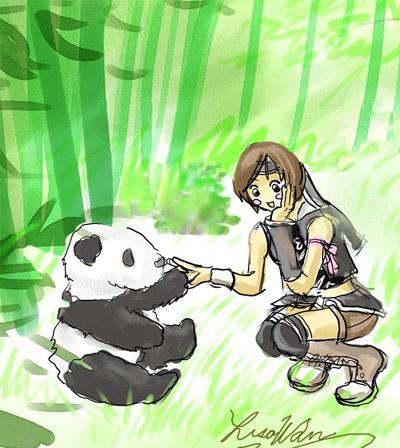 Ninjas love pandas by lithele
