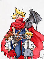 Poor Papa Cloud by lithele
